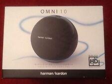 Harman/Kardon Omni 10 WIFI HD Sistema Di Altoparlanti con Bluetooth & incendio-Nero