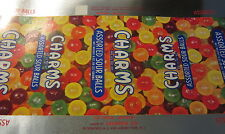 Old Vintage 1950's CHARMS Sour Ball CANDY Package Wrapper / LABEL - N.J.