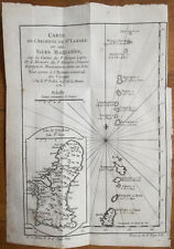 Bellin Original Map Mariana Islands 1780+