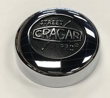 Cragar SS Street Pro Center Cap Part #: 29028 Chrome Plated Aluminum Set of 4