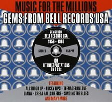 Gems From Bell Records USA - Music For The Millions 3CD NEW/SEALED
