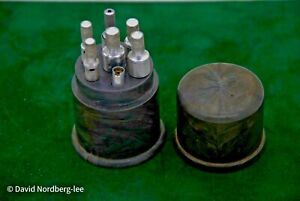 J.P. Schilling (USA) Set of 7  Mainspring Winders   Watchmaking tool