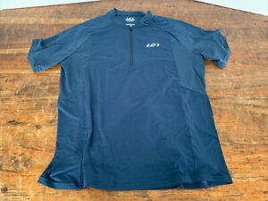 Louis Garneau Connection 2 Jersey - Men's XL Navy Blue Retail NWT