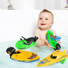 1Pc Speed Boat Ship Wind Up Toy Float In Water Kids Toys Children Boys Gi_cd