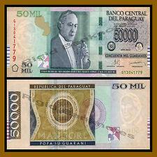 Paraguay 50000 Guaranies, 2013 P-232 Unc
