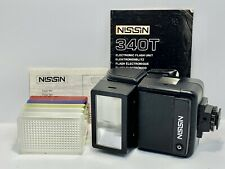 Flash Universel NISSIN 340T Standard Hotshoe - CANON/NIKON/PENTAX + Diffuseurs