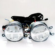 1400LM 24W 6000K Bifocal LED Fog Lamp + DRL for Ford, Automatic light-sensitive