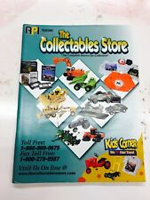 2001 collectables die cast toy catalog, tractors, cars and more. 95 pages
