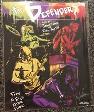 The Defenders Authentic Signed by Nadinne Neira Art Print BAM BOX 400/2000