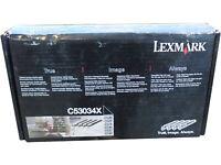 Lexmark C53034X Photoconductor Units 4-Pack Genuine OEM Retail Box Quick Ship