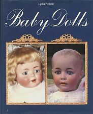 Baby Bisque Dolls 1909-1930  Types Makers / Scarce Illustrated Book