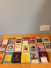 Lot of 20 Country Music 8 Track Tapes VARIOUS ARTISTS L2 *