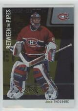 2002-03 ITG Be A Player Between the Pipes /10 Jose Theodore #2