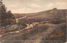 uk17951 heyton and moorland road to widdecombe dartmoor uk