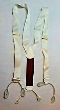 VTG. Trafalgar White Suspenders