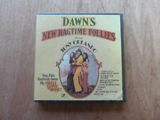"""Dawn's New Ragtime Follies 7"""" x 1/4"""" 3 3/4 Ips Reel to Reel Tape New Sealed"""
