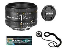 Sale 50mm 1.8 D Nikon 50 mm f/1.8D Af Nikkor Lens 2137 Retail + Free Cap Keeper