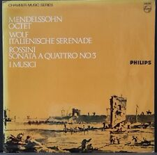 PHILIPS SAL3640 ED 1 UK PRESS MENDELSSOHN OCTET WOLF SERENADE ROSSINI I MUSICI