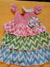 Oobi Baby And Kids 5y Multicolored  Dress NWT