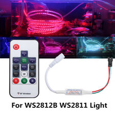 WS2811/WS2812B DC 5~24V Mini 14 Keys RF Wireless Remote Controller For LED Strip
