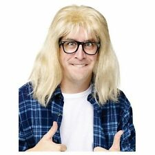 Adult SNL Garth Algar Wig and Glasses Accessory Kit - One Size Fits Most. BRAND