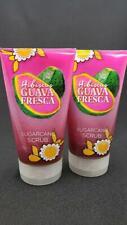 x2 Bath & Body Works HIBISCUS GUAVA FRESCA Sugarcane Body Scrub, 8.0 oz each NEW