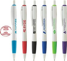 Marketing Pens Imprinted With Company Name / Logo / Text  In 1 Color / 250 QTY