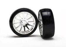 TRAXXAS CERCHI + PNEUMATICI Traxxas 7573 LaTrax Rally Tires / Wheels