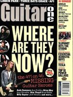 Guitar One Magazine March 2004 - Where are They Now? 46 Missing Guitar Heroes