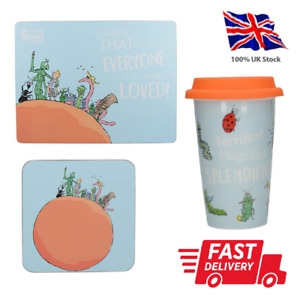 Roald Dahl James and the Giant Peach - Placemats, Coasters & Travel Mugs