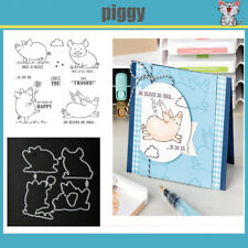 flying piggy stamps and dies set 2020 clear stamp Scrapbooking