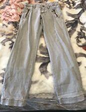 Boys Grey Burberry Jeans Age 8