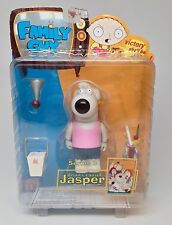 "Mezco Family Guy Series 3 Brian's Cousin ""Jasper"" Pink Shirt Action Figure"