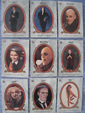ADDAMS FAMILY 11 STICKERS COMPLETE TOPPS SET MOVIE 1991