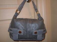 NWOT MICHAEL Michael Kors Leather Satchel Bag, Gray