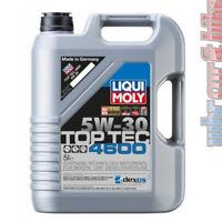 5L Liqui Moly 3756 Motoröl Top Tec 4600 5W-30 Öl VW BMW MB Ford GM