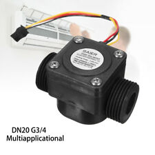 60L/min Water Flow Meter Sensor DN20 G3/4'' DC 5V Fluid Flowmeter Counter Switch