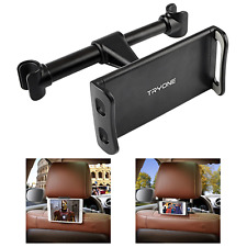 """Car Headrest Mount, Tryone Tablet Headrest Holder Compatible with 4.7""""-10.5"""","""