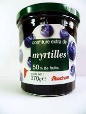 Blaubeer Konfitüre Wald Heidelbeere Wildbeere original aus Frankreich 370g Glas