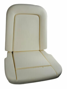 1967 Ford Mustang Seat Foam - Standard or Deluxe - 1 Top & 1 Bottom