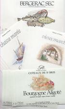 MAGNIFIQUE LOT DE 1000 ÉTIQUETTES de VIN NEUVES sur ebay.fr PORT GRATUIT