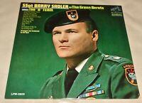 The A Team by Barry Sadler (Vinyl LP, 1966 USA Sealed)