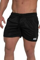 ADONIS.GEAR- ENVY 2, BLACK B, SHORTS, BODYBUILDING, GYM, TRAINING, RUNNING, MENS
