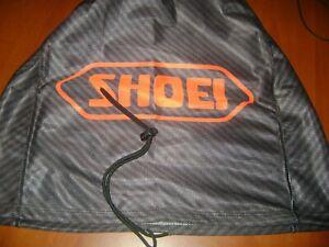 MOTORCYCLE HELMET BAG MICROFIBER SHOEI HELMET BAG CARRY HELMET DUFFLE carbon red