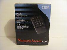 IBM Lenovo Black USB Numeric Keypad for Laptop & Desktop PCs KU-9880