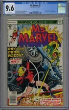 Ms. Marvel #5 CGC 9.6 NM+ Wp Vs Vision Battle Cvr Marvel Comics 1977 WandaVision