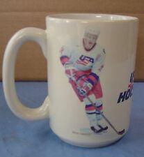 Brian Leetch Team USA World Cup tall coffee cup