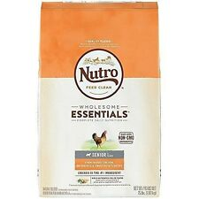 Nutro wholesome essentials Dog food, Senior Farm Chicken Brown Rice & Potato 15p