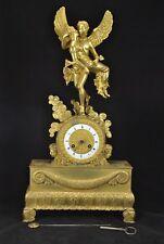 pendule bronze doré empire ormulu clock reloj vénus splendid