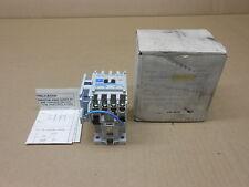 1 NIB CUTLER HAMMER D15CR40T1B DC CONTROL RELAY 24 VDC